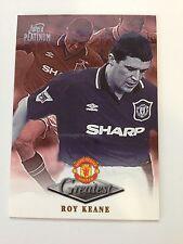 Manchester United Futera Platinum 1999 Greatest Card (RK)