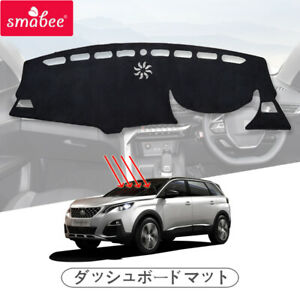 for Peugeot 3008 4008 5008 GT 2017 - 2020 Car Dashmat Protective Dashboard Pad