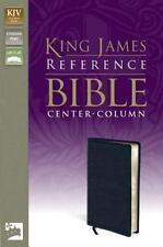 KJV, Reference Bible, Bonded Leather, Navy, Red Letter Edition, Zondervan