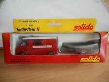 Solido Citroen C35 Secours Aux Moyes in Red in Box