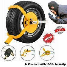 Wheel Clamp Caravan Trailer Tire Lock Car Anti Theft Lock Heavy Duty Van Safety
