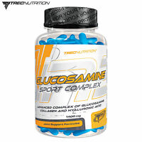 GLUCOSAMINE SPORT COMPLEX 90/180 Tab. Hyaluronic Acid Collagen Effective Healthy