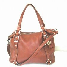 COACH handbag leather Alexandra 15273 Free Shipping [used]