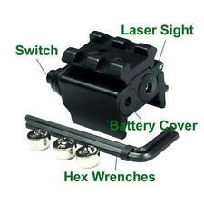 Chic Red Laser Gun Sight Dual Weaver Rail Mount Compact 650nm For Pistol RZC