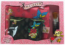 Pink Cookie Love Forever Make Up Bags and Brushes Set