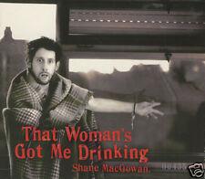 SHANE MacGOWAN - That Woman's Got Me Drinking - UK CD