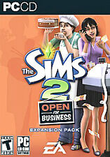 Sims 2: Open for Business (PC, 2006) NEW