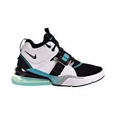 Nike Air Force 270 Big Kids' Shoes White-Black-Wolf Grey AJ8208-100