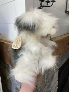 Folktails Folkmanis Sheepdog Full Body Hand Puppet Dog Puppy