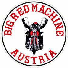 """043a HELLS ANGELS Support 81  Big Red Machine Sticker Aufkleber """"Austria Biker"""""""