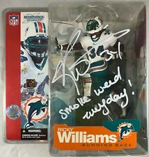Ricky Williams autographed signed inscribed figure NFL Miami Dolphins JSA COA