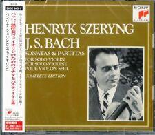 HENRYK SZERYNG-BACH: SONATAS AND PARTITAS FOR SOLO VIOLIN...-JAPAN 2 CD D73
