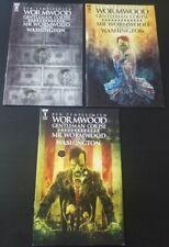 Wormwood Gentleman Corpse: Mr. Wormwood Goes To Washington #1-3 Cover Set 2017