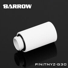 "Barrow G1/4"" White 30mm Male to Female Extender - 281"