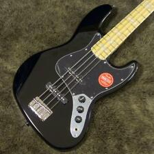 Squier Vintage Modified Jazz Bass '77 Black rare beutiful JAPAN EMS F/S*