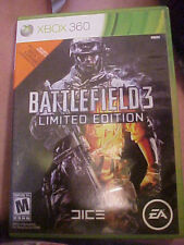 Battlefield 3 Limited Edition Microsoft Xbox 360 2 game discs, code card, case