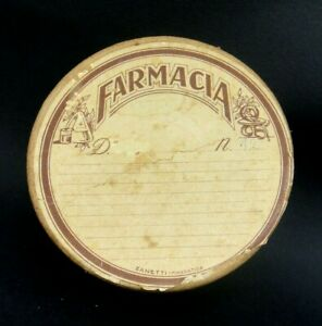 SCATOLA IN CARTONE - FARMACIA - PRIMI '900