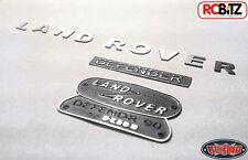 Land Rover Defender D90 Emblem logo Set Gelande 2 GII RC4WD 10th scale metal TOY