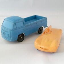 Vintage vinyl toy cars - Volkswagen Vinyl Line Germany & Tomte Lardal Norway