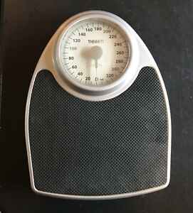 THINNER TH100 350LB Extra-Large Dial Analog Precision Bathroom Scale