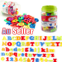 78PCS Xmas Letters Magnetic Numbers Learning Toy gift Alphabet Magnets Fridge