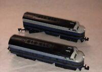 Bachmann N Scale B&O Baltimore Ohio 2 Diesel Locomotive Set 1 Powered 1 Dummy
