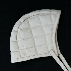 New Padded White Short Cap New Medieval Theater Movie Costume