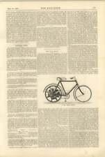 1900 New Motor Bicycle, Singer