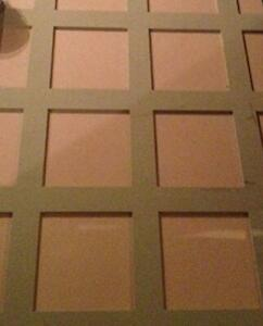 Shaker Wall Panelling moisture resistant mdf 2.3m pack - All Sizes available