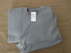 NEW! 3XL Right Hand Trap/Skeet Pad CHARCOAL 50/50 Blend Sweatshirt