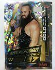 Topps WWE Slam Attax Universe Rare Braun Strowman Gold Limited Edition Card