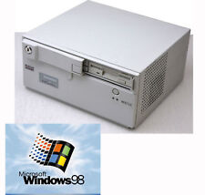 Más compacto PC + isa slot con Windows 98 566 MHz 256 MB 2x USB RS 232 LAN LPT #w20