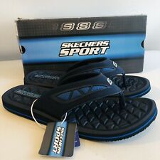 SKECHERS RELAXED FIT (51463/NVBL) MEN'S SANDALS SIZE UK 12 | EU 47.5 | US 13