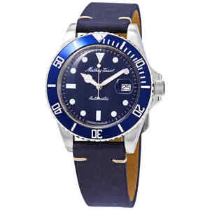 Mathey-Tissot Mathey Vintage Automatic Blue Dial Men's Watch H9010ATLBU