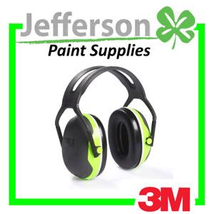 3M PELTOR X Series Premium Headband Earmuff X4A
