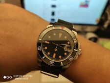 vintage style ceramic diver submariner homage mechanical automatic watch bond
