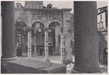 D3628 Croazia - Spalato - Il Peristilio visto dalla Loggia - Stampa - 1940 print