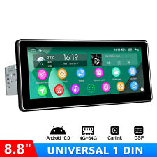 Joying Universal Single Din Android Car Stereo with 8.8Inch Touchscreen 64Gb Rom