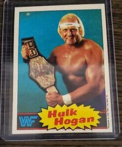 1985 Topps WWF Wrestling Hulk Hogan Pack Fresh Invest Good Centering