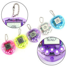 168 Pets in 1 Transparent Peach Design Virtual Cyber Tamagotchi Pet Toy AU HF