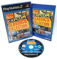 Capcom Classics Collection ~ Playstation 2 PS2 ~ Retro Arcade Games *Excellent*