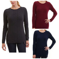 NEW Nautica Ladies' Single Cable Tunic Sweater variety FREE SHIPPING M162