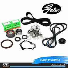 Gates HTD Timing Belt Kit Water Pump for 02-08 Hyundai Elantra Tiburon Tucson