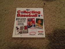 """RARE 2001 """"COLLECTING BASEBALL"""" MAGAZINE FOR KIDS (KRAUSE PUBLICATIONS)"""