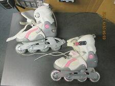 Dbx Escape girls Rollerblades, adjustable sz 1-4/31-36 abec3, Vgc