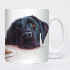 Otter House Chunky Mug - Watercolour Black Labrador,Office Tea Coffee Gift