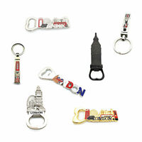Metal Bottle Opener, Keyrings Designed with London Souvenir for Home Use & Gifts