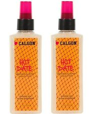 Lot of 2 New Calgon Hot Date Shimmer Mist Warm Vanilla and Pear 6 fl oz x 2