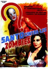 SANTO CONTRA LOS ZOMBIES  (DVD PRECINTADO) SANTO EL ENMASCARADO DE PLATA
