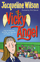 Vicky Angel by Jacqueline Wilson, Good Used Book (Paperback) FREE & FAST Deliver